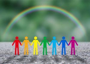虹 人との繋がり