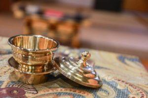 金の焼香用香炉