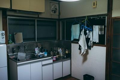 一人暮らしのキッチン