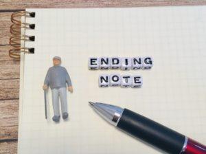 エンディングノートと高齢者